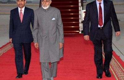 His Majesty Sultan Qaboos Bin Said arrives after successful  treatment in Germany