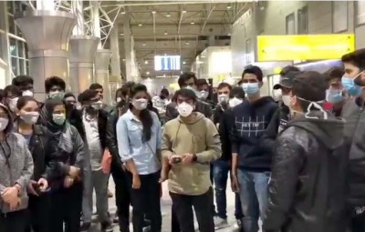 Corona: 200 Indian students stranded at Kazakhstan airport.
